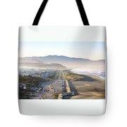 San Francisco Morning - The Great Highway Ocean Beach Tote Bag