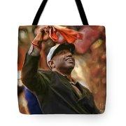 San Fransco Giants Barry Bonds Tote Bag