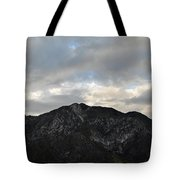 San Gabriel Mountains Evening Tote Bag