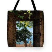 San Gimignano Door Tote Bag