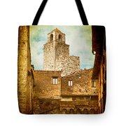 San Gimignano Italy Tote Bag