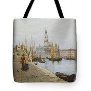 San Giorgio Maggiore From The Zattere Tote Bag