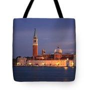 San Giorgio Maggiore Island Venice Italy Tote Bag