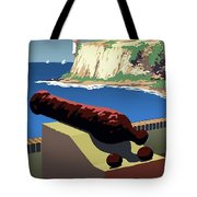 San Juan National Historic Site Vintage Poster Tote Bag
