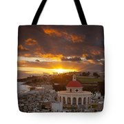 San Juan Sunrise Tote Bag