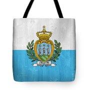 San Marino Flag Tote Bag