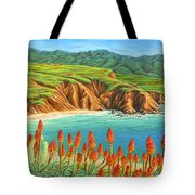 San Mateo Springtime Tote Bag