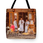 San Miguel - Waiting For Customers Tote Bag