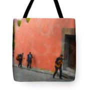 San Miguel De Allende Mexico Streets Tote Bag
