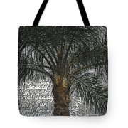 San Palm  Tote Bag
