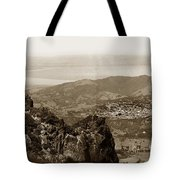 San Rafael From Mount Tamalpais California Circa 1905 Photo By Putnam- Valentine Tote Bag
