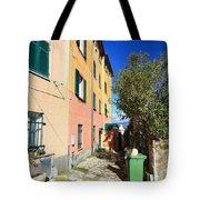 San Rocco In Camogli Tote Bag