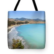 San Simeon Bay Tote Bag