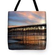 San Simeon Pier Tote Bag
