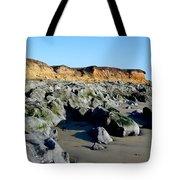San Simeon Rocky Beach Tote Bag