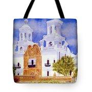 San Xavier Mission Tote Bag