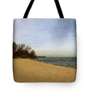 Sand And Water Tote Bag