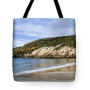 Sand Beach Acadia Tote Bag