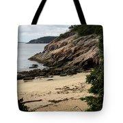Sand Beach Acadia Park Tote Bag
