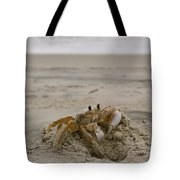 Sand Crab Tote Bag by Nelson Watkins