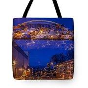 Sand Creek At Night Tote Bag