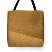 Sand Curves Tote Bag