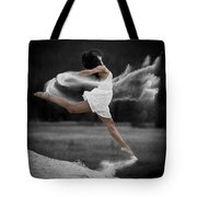 Sand Dance Tote Bag