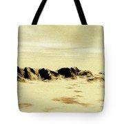 Sand Desert Tote Bag
