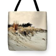 Sand Dunes At Penny Beach Tote Bag
