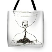 Sand Glass Tote Bag