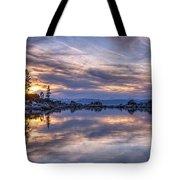 Sand Harbor Tote Bag