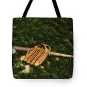 Sand Lot Baseball Tote Bag