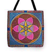 Sand Mandala Tote Bag