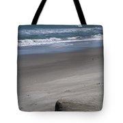 Sand Mogul On Florida Beach Tote Bag