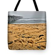 Sand On The Beach Tote Bag