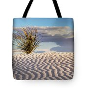 Sand Patterns And The Yucca Tote Bag