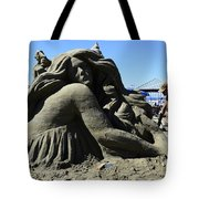 Sand Sculpture 1 Tote Bag by Bob Christopher