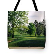 Sand Traps On A Golf Course, Baltimore Tote Bag