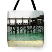 Sandals Resort Nassau Pier Tote Bag
