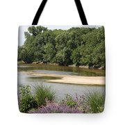 Sandbanks In The River Tote Bag