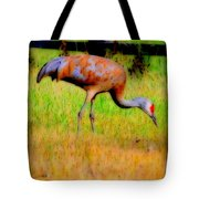Sandhill Crane I Tote Bag