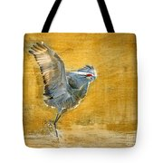 Sandhill Dancing Tote Bag
