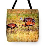 Sandhill Family Tote Bag
