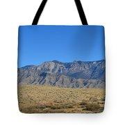 Sandia Mountains Tote Bag
