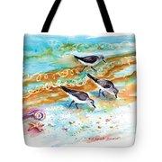 Sandpiper Trio Tote Bag