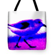 Sandpiper Abstract Tote Bag