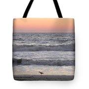 Sandpiper At Sunrise Tote Bag
