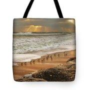 Sandpiper Sunrise Tote Bag