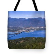 Sandpoint From Trail 3  -  110923-021 Tote Bag