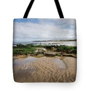 Sands Of Whitley Bay Tote Bag